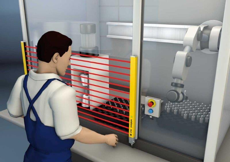 Adequação de segurança em máquinas